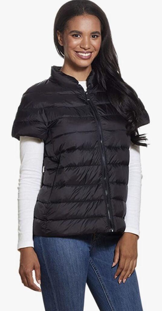 MARTHA STEWART Women's Puffy Vest