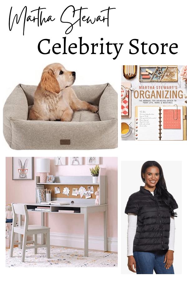Martha Stewart Celebrity Store on Amazon