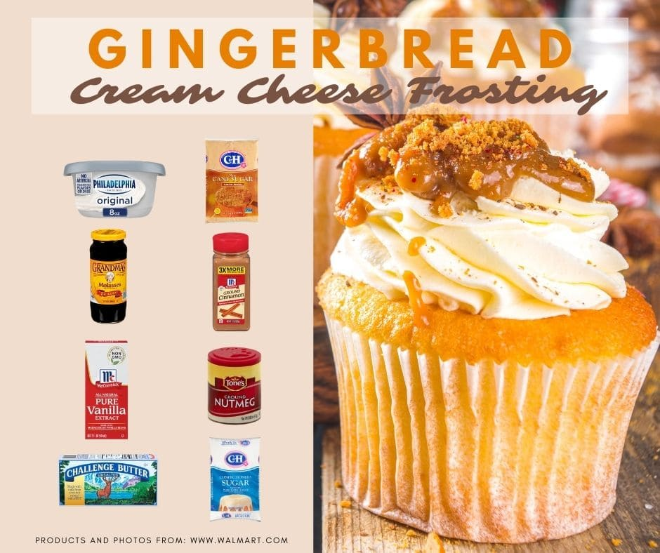 Gingerbread cream cheese frosting recipe ingredients