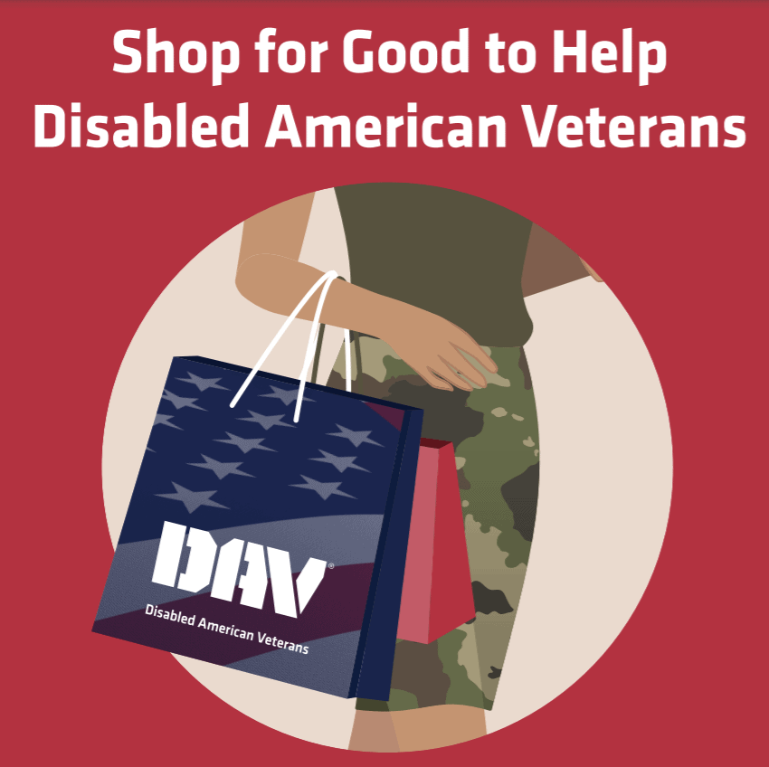 DAV Spare Change for Disabled American Veterans graphic