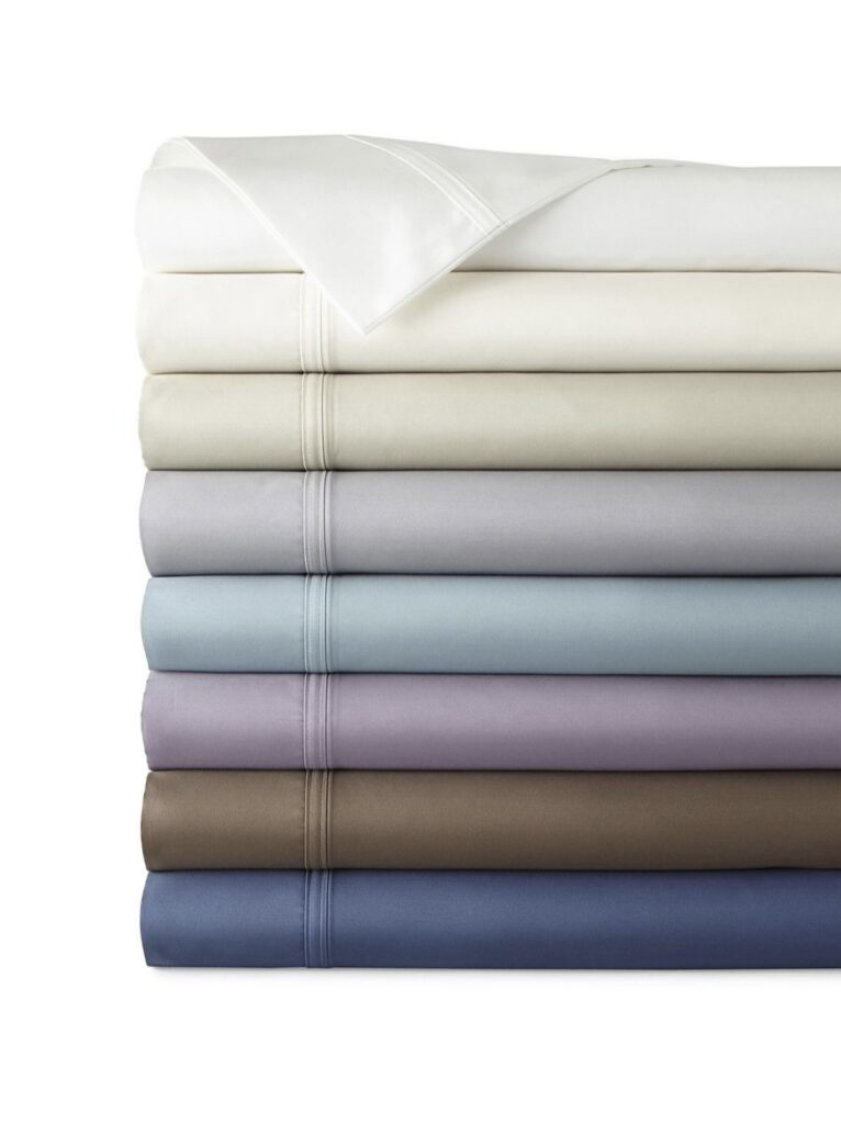 JCPenney Home Ultra Performance 575tc Sateen Deep Pocket Sheet Set from JC Penney Clearance
