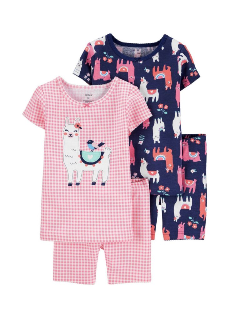 Carter's Baby Girls 4-pc. Pajama Set from JC Penney Clearance