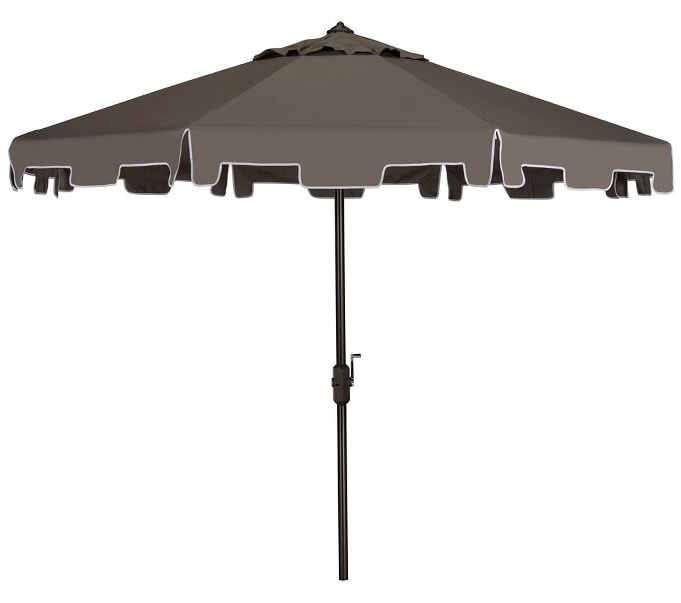 Zimmerman 9' Market Umbrella - Safavieh