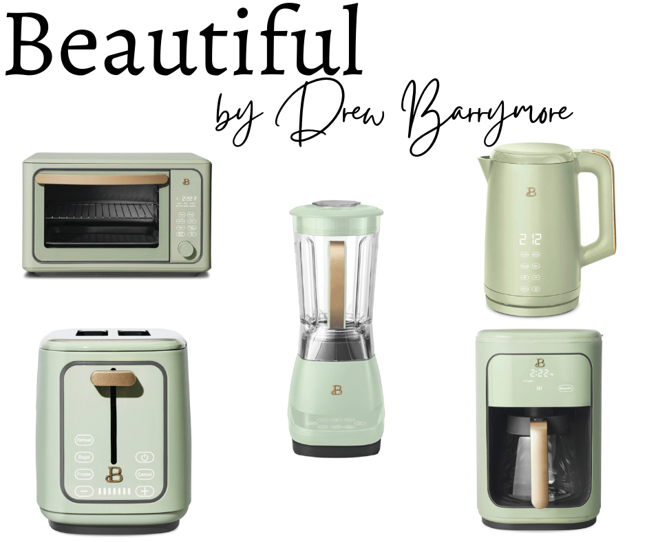Beautiful by Drew Barrymore Kitchenware collage of products