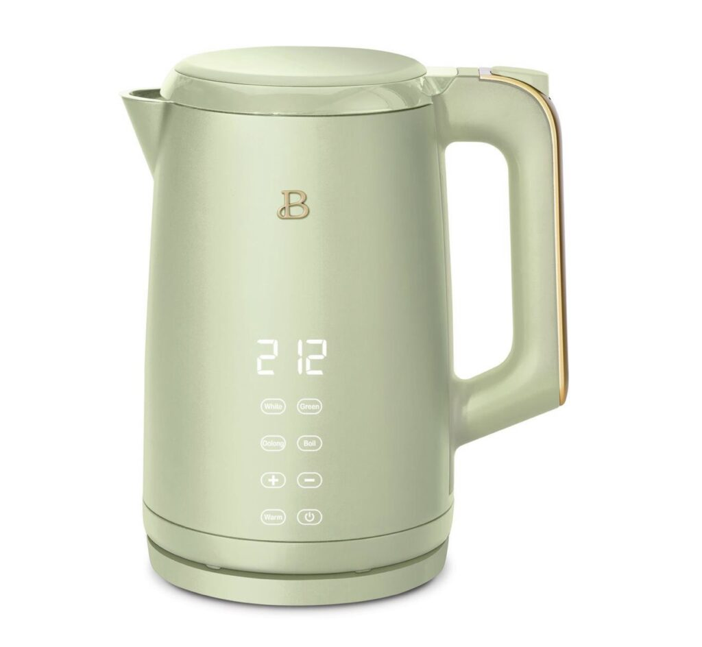 1.7L One-Touch Electric Kettle Beautiful by Drew Barrymore Kitchenware