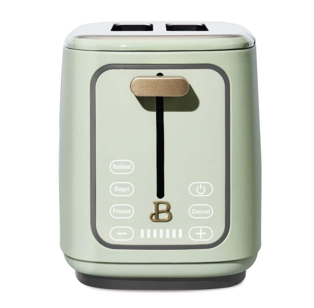 2 Slice Touchscreen Toaster Beautiful by Drew Barrymore Kitchenware