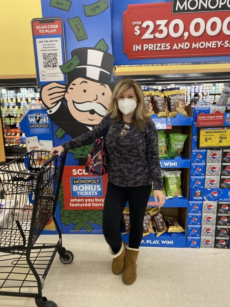 Lori Felix Shop Play Win Monopoly Game at Albertsons
