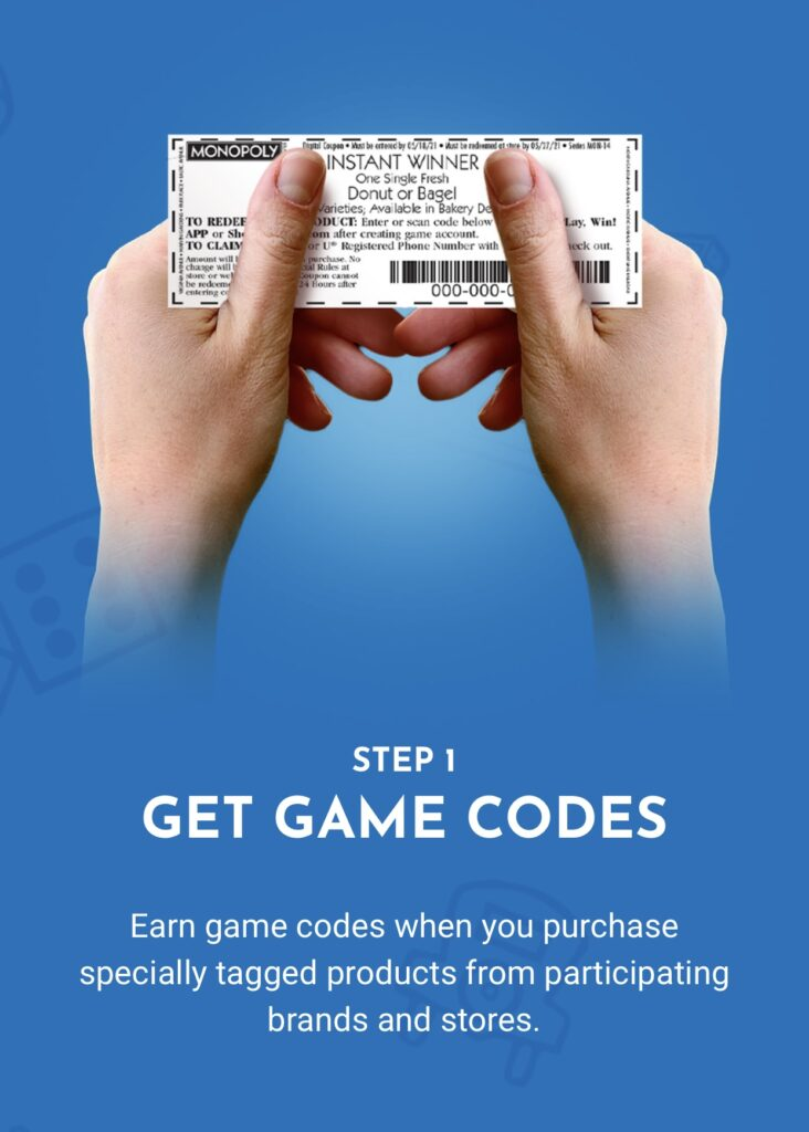 Shop, Play, Win! Monopoly Game at Albertsons instant winning game piece