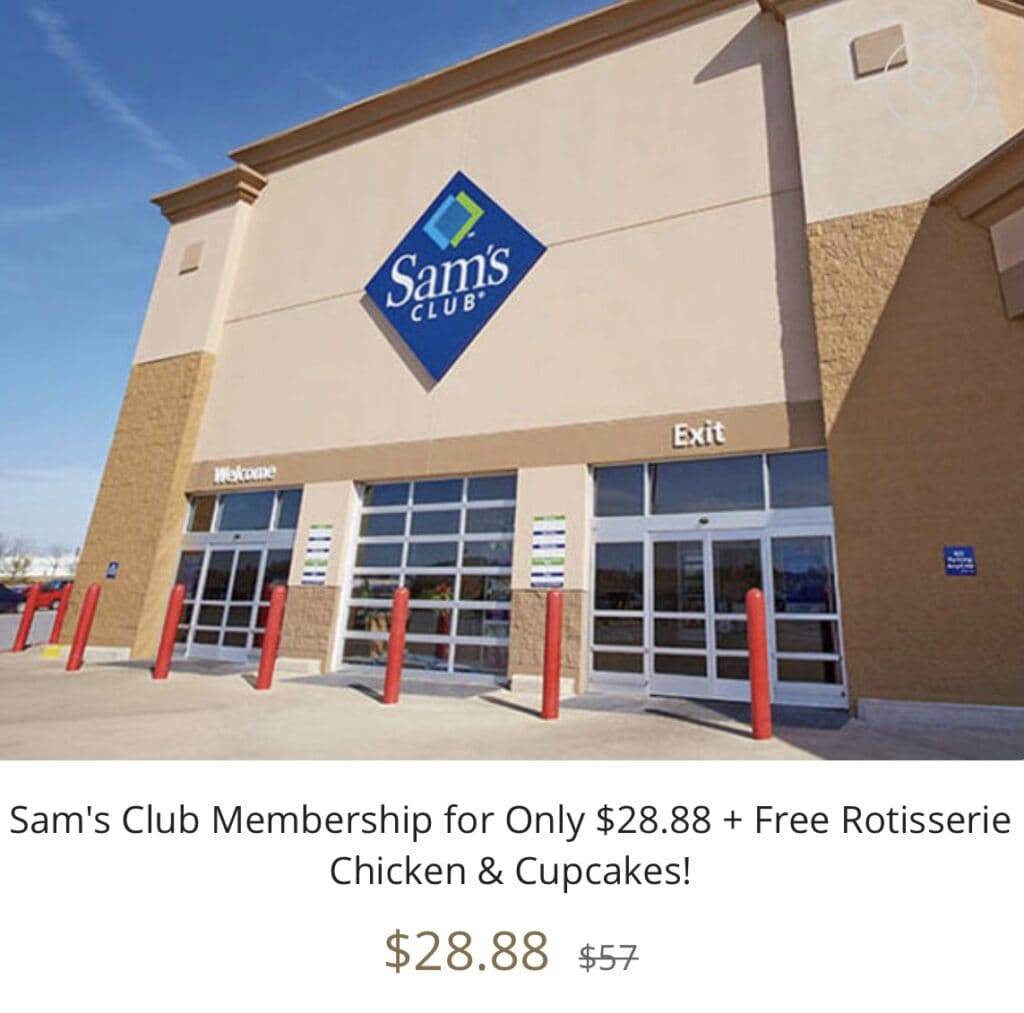 Sam's Club Membership for Only $28.88 + Free Rotisserie Chicken & Cupcakes!