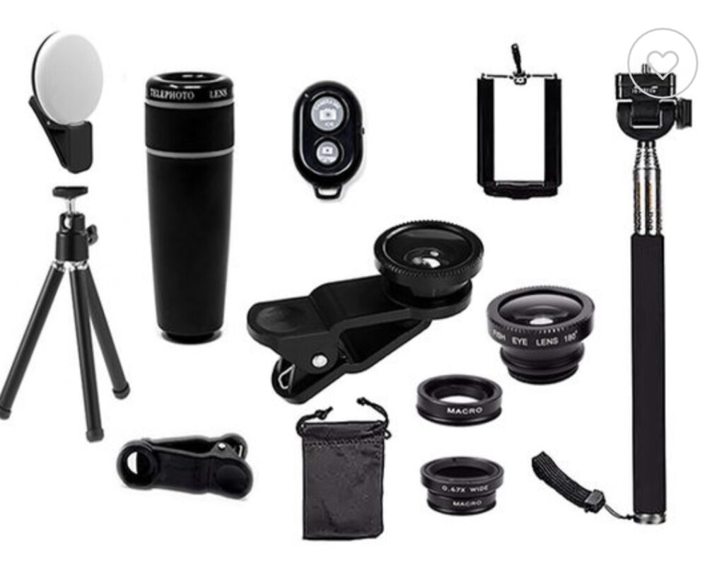 11-in-1 Smartphone Photography Accessory Bundle as seen on Extra TV Joyus deals