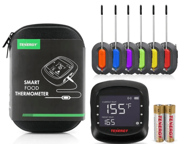 Solis Bluetooth Digital Food Thermometer with Six Probes from Home Depot