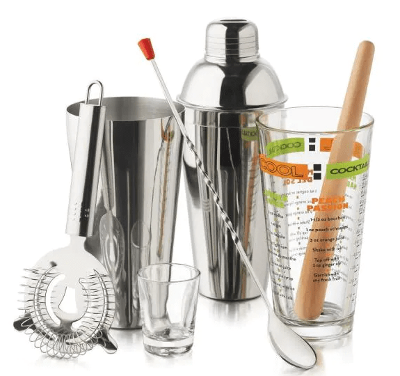 Libbey Mixologist 9-piece Cool Cocktails Set from Home Depot