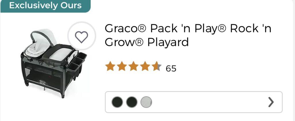 Graco Pack n' Play at BuyBuyBaby