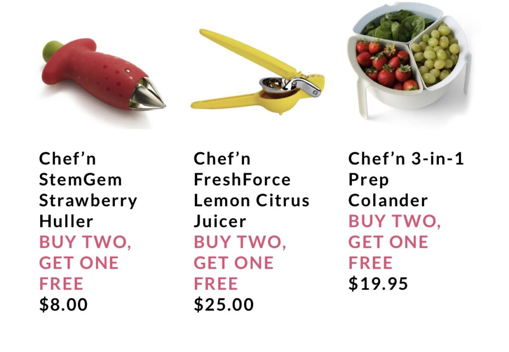 kitchen tools from Sur la Table