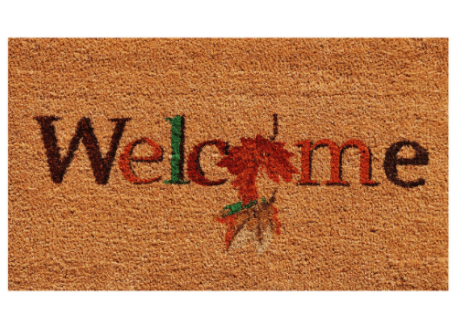 Home & More Fall Beauty Doormat from the Macy's Ultimate Shopping Event