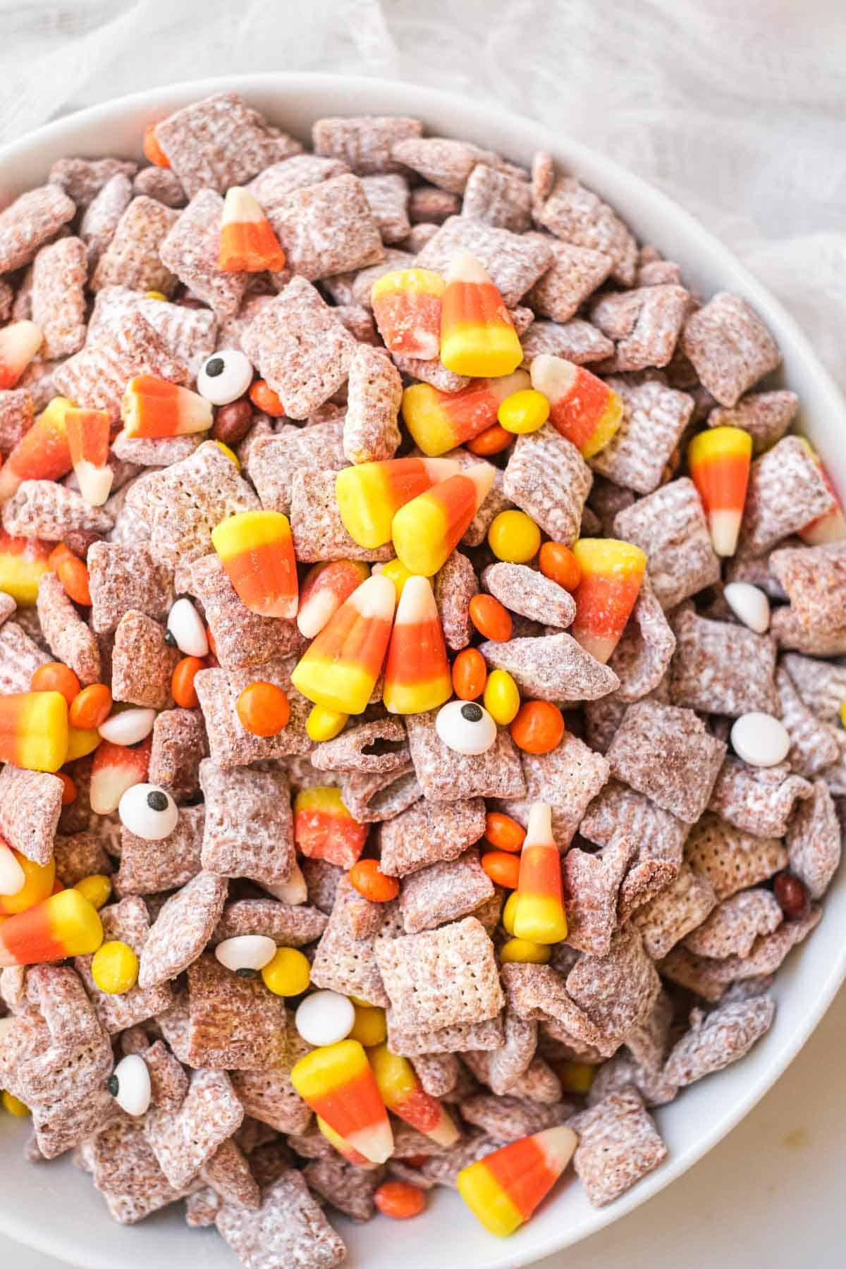 Halloween Party Treats - Halloween Puppy Chow