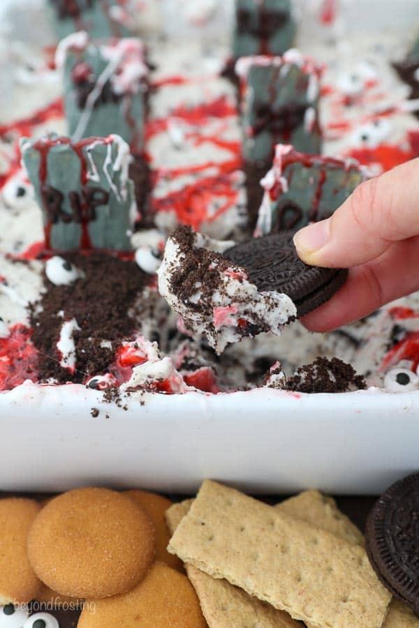 Halloween Party Treats - Spooky Oreo Dip
