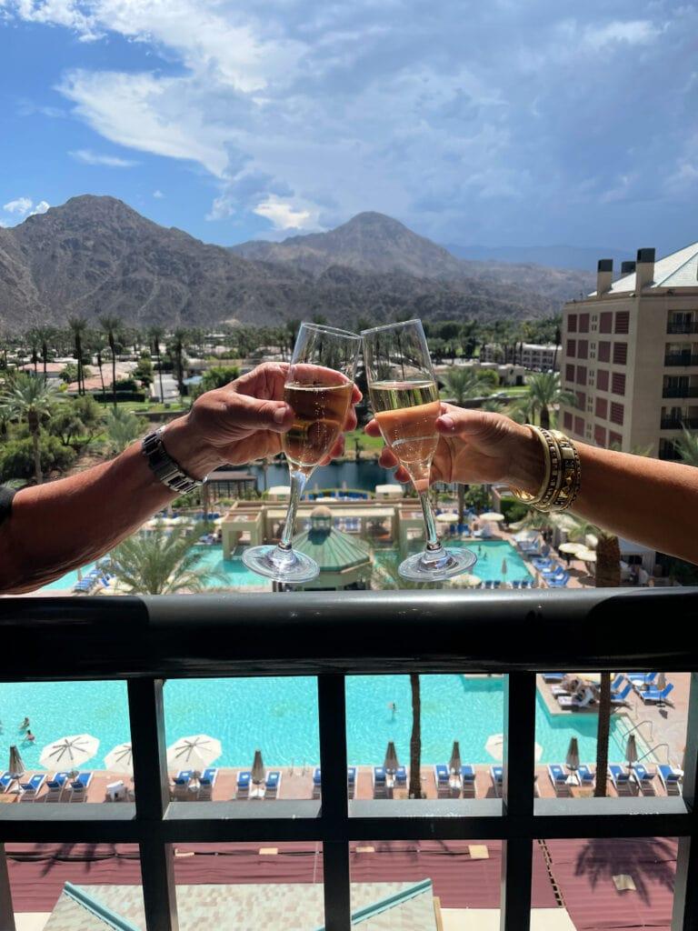 Renaissance Esmeralda Resort & Spa private balcony view