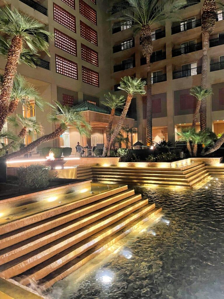 Renaissance Esmeralda Resort & Spa night view
