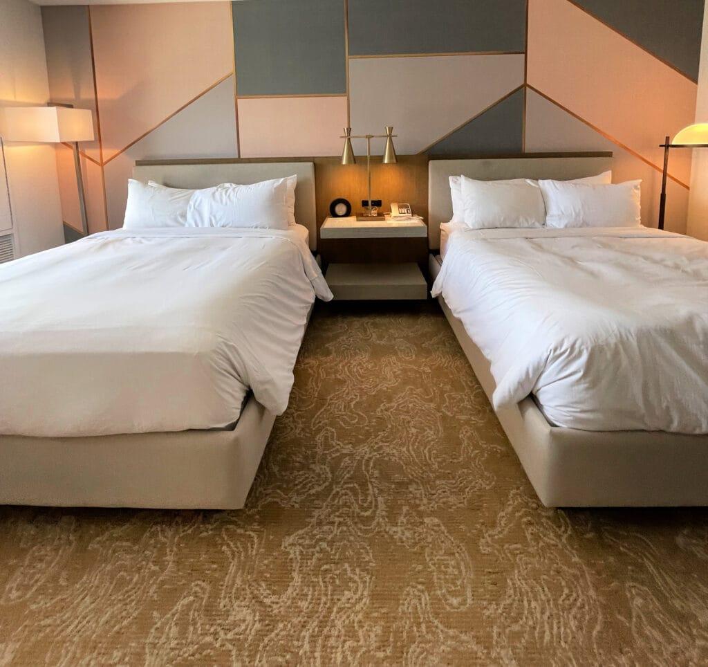 Renaissance Esmeralda Resort & Spa queen bed room