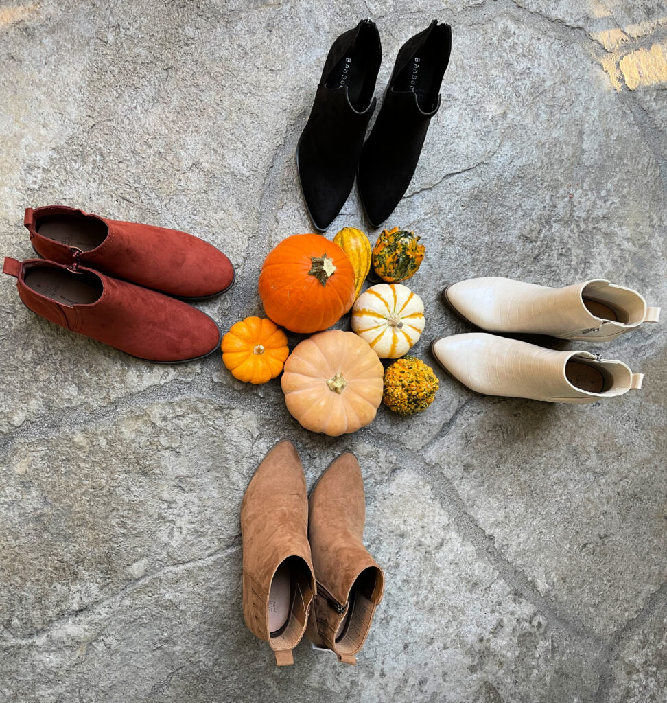 Fall boots from Walmart